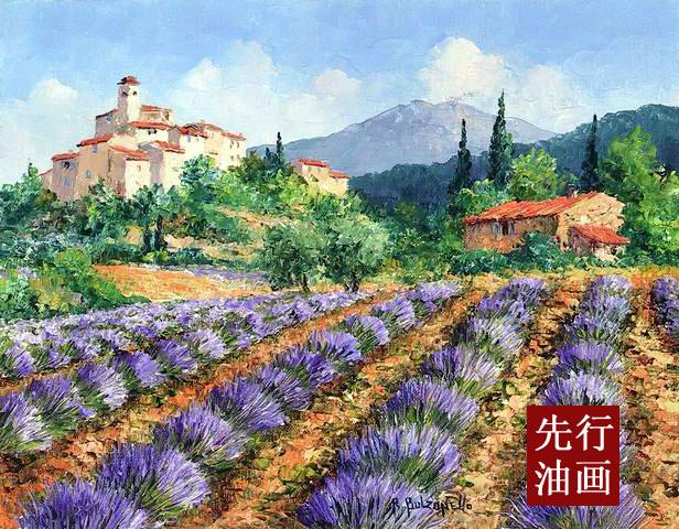欧式油画高清图片 花卉