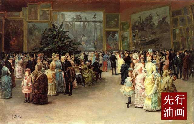 著名人物油画网 欧式装饰画