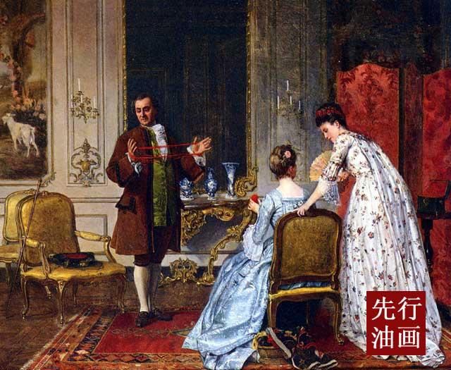 宫廷人物画 欧式古典风格装修
