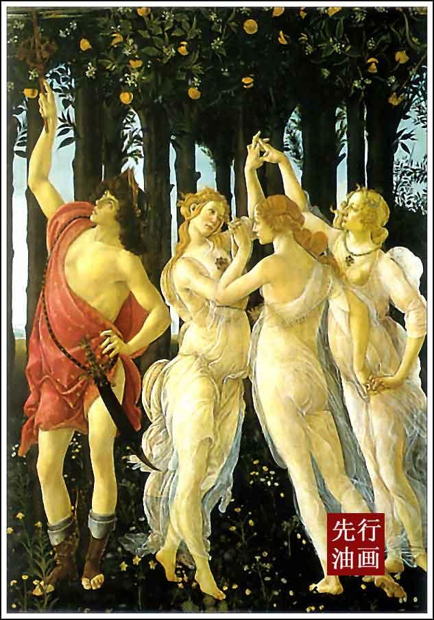 新古典装修风格 欧式古典人物画