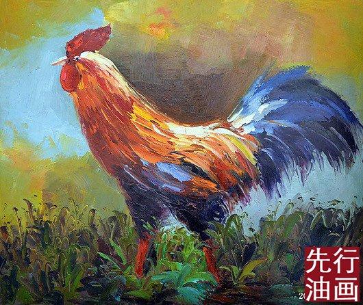 动物油画_先行油画(大芬)艺术网
