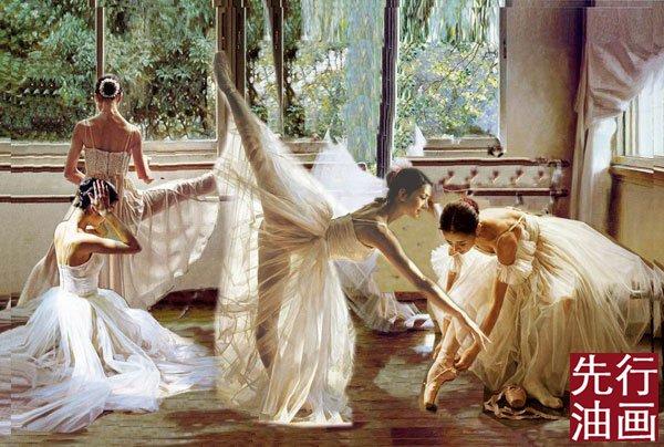 芭蕾舞图片唯美手绘图片