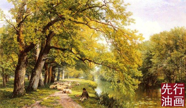 古典风景油画
