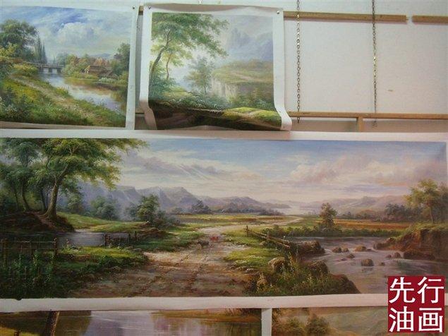 風景油畫圖片大全