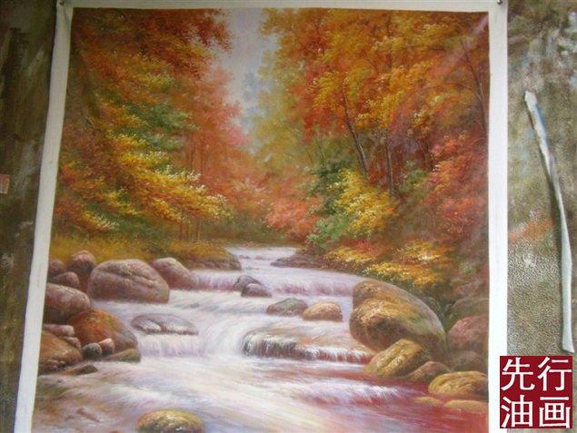 国外风景油画 - 风景画