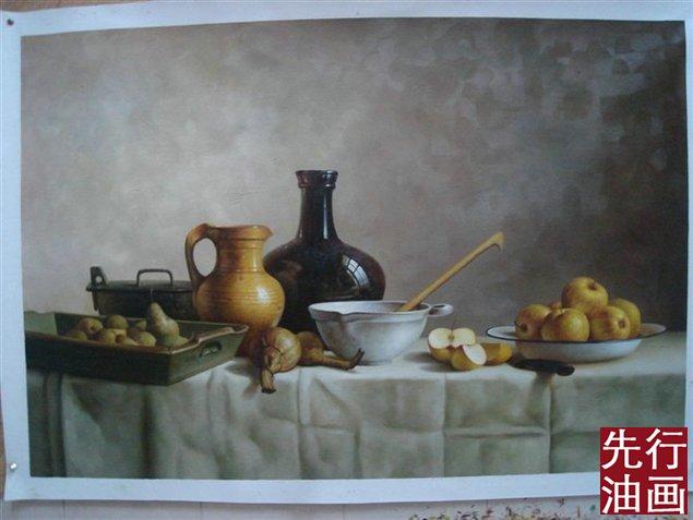 欧洲古典静物油画0710