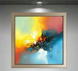 抽象画 客厅
