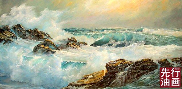 海景高级油画