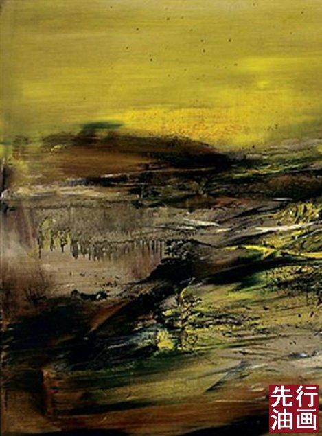 抽象派油画作品欣赏