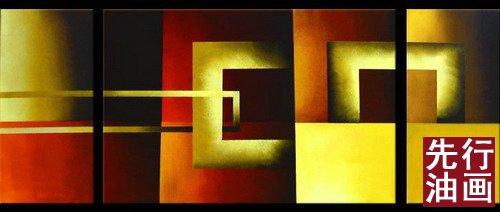 几何图形抽象画