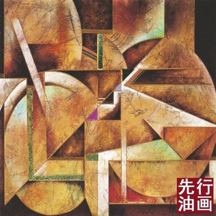 外国抽象油画